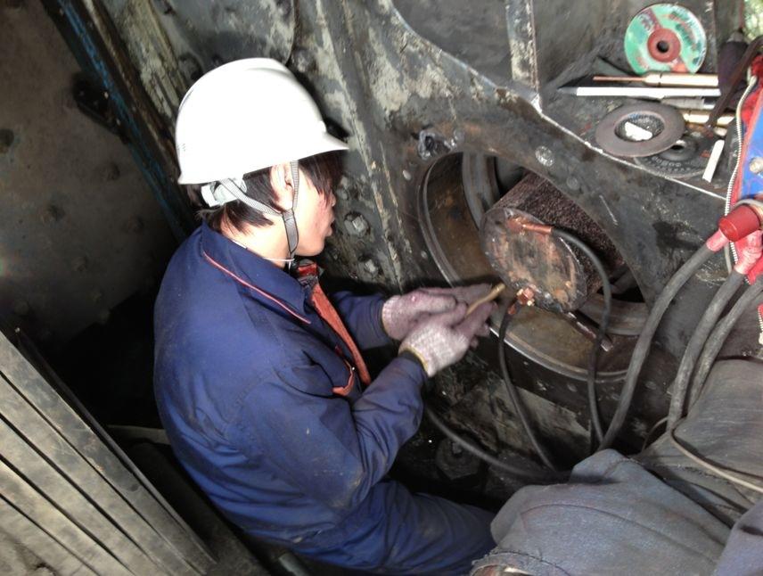 减速机轴承孔在线维修